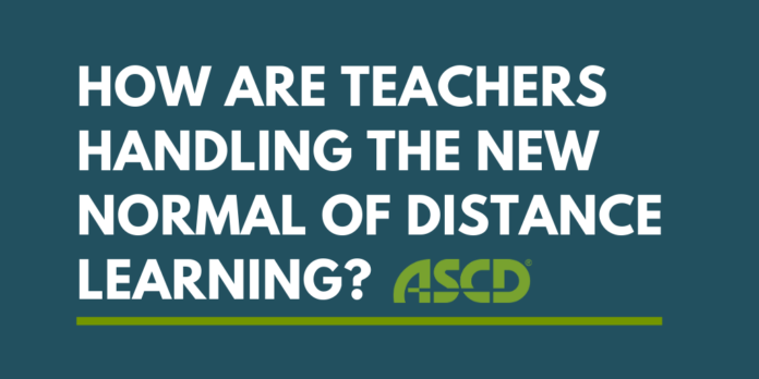 How are teachers handling the new normal of distance learning? - thumbnail