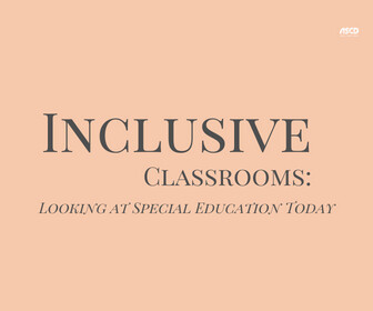 Inclusive Classrooms: Looking at Special Education Today Thumbnail