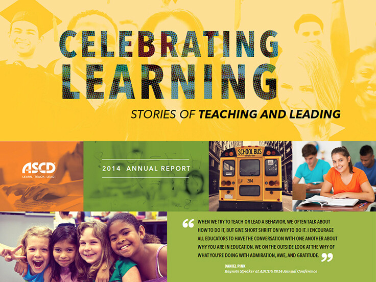 2014 ASCD Annual Report Cover Image
