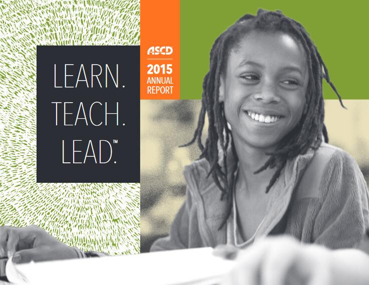 2015 ASCD Annual Report Cover Image