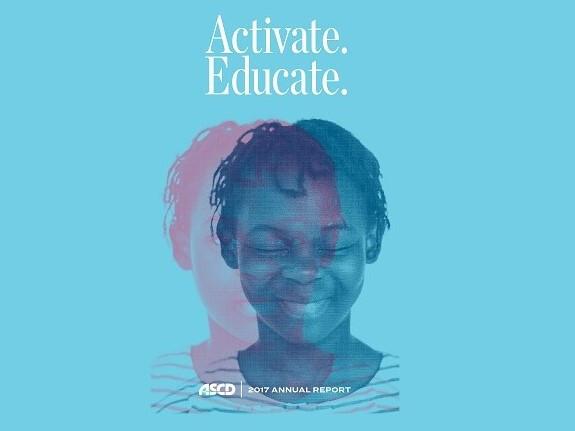 2017 ASCD Annual Report Cover Image