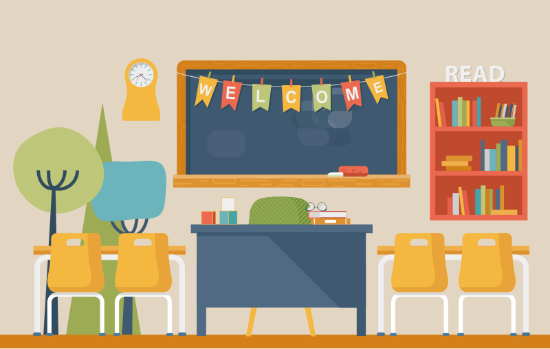 Decluttering the Teacher-Centric Classroom: Who Really Owns the School?  (thumbnail)
